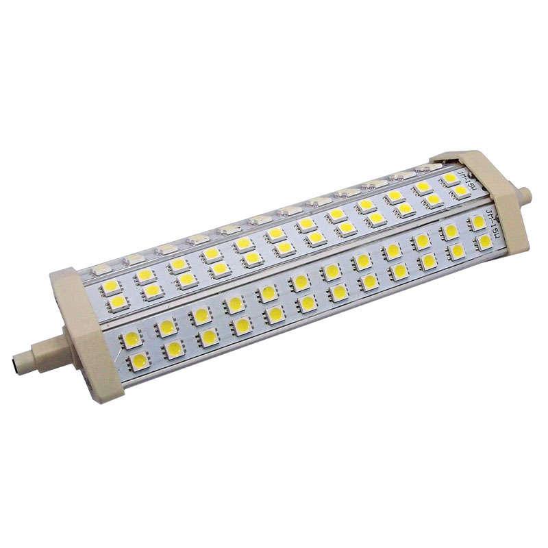 Bombilla led r7s 15w 72xsmd5050 189mm ledbox - Bombillas halogenas led ...
